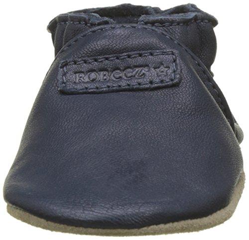 TG-23-24-EU-Robeez-Myfirst-Pantofole-Unisex-Bimbi-Blu-Marine-Perm-10-23 miniatura 4