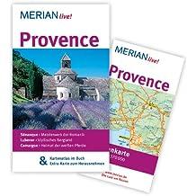 Provence: Mit Kartenatlas im Buch und Extra-Karte zum Herausnehmen (MERIAN live)