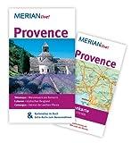 Provence: Mit Kartenatlas im Buch und Extra-Karte zum Herausnehmen (MERIAN live) - Gisela Buddée