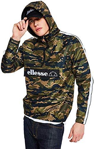 ellesse Jacke Herren Mont 2 OH Jacket Camouflage Camo, Größe:L