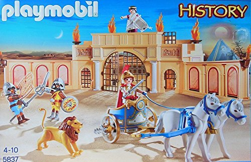 PLAYMOBIL 5837 Hystory - L'arène romaine Playmobil 4008789058379