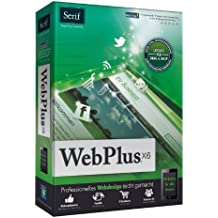 Serif WebPlus X6 - Software de desarrollo (1 usuario(s), Full, 434 MB, 512 MB, Intel Pentium, DEU)