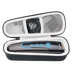 Khanka Hart Reise Tasche Case für Remington Barttrimmer Touch Tech Bartschneider MB4700 /MB320C .(Nur tasche)