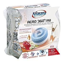 Ariasana Aero 360° Ricarica TAB Cascata di Montagna per Dispositivo Aero 360° Kit, Assorbi Umidità in Tab al Profumo di…