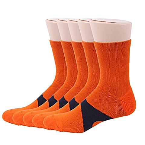 RioRiva Chaussette Homme Liner Ankle Socquette Sportive Chaussette de Sport Grande Taille (EU 41-48/US 7-13, MSSK01- 5 pairs)