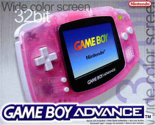 Nintendo Game Boy Advance Konsole - Clear Red