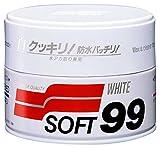 SOFT99 20 Hartwach für weiße und helle Lacke, White, 350 g