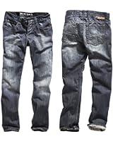 """Timezone Herren Jeans Normaler Bund CoastTZ """"3106 waterline wash"""" 26-5477"""