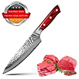 Utility Knife - Damascus Steel 8 inch Chef Knife VG10 High-carbon Stainless Steel G-10 67 Layer Sharp Chef's Cooks Knives With Gift Box