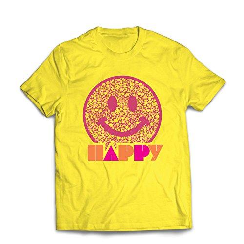 603da0dda65f3 lepni.me T-Shirt pour Hommes Emoji Wear - Inspirational Happy Emoticon Cute  Smileys