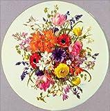 Posterlounge Acrylglasbild 30 x 30 cm: Rundes Bukett von Albert Williams/Bridgeman Images - Wandbild, Acryl Glasbild, Druck auf Acryl Glas Bild