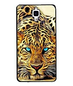 PrintVisa Digital Translucent Tiger High Gloss Designer Back Case Cover for Xiaomi Redmi Mi 4 :: Redmi Mi 4