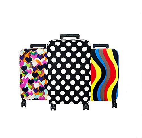 Bingpong Weiche, elastische Reisekoffer-Schutzhülle Reisezubehör Gepäck Staubschutz für 18-71 cm Koffer a XL -