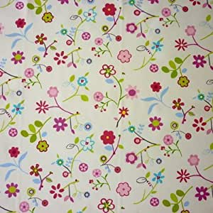 THE TABLECLOTH SHOP Florie Petal Wipe Clean Oilcloth Tablecloth 1.5 Metres