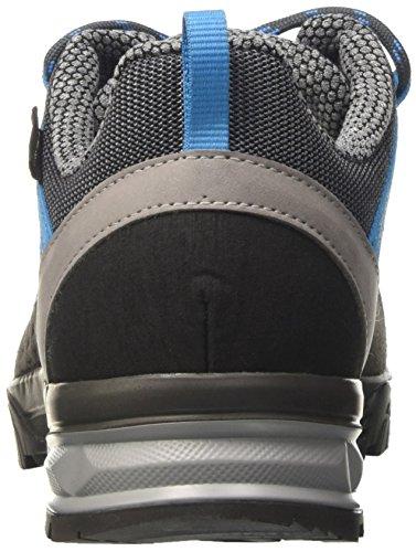 Lowa Sassa Gtx Lo Ws, Chaussures de Randonnée Femme Gris (Anthrazit/blau)