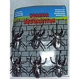 Folat 6 Halloween Dekotiere Käfer