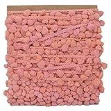 Pom Pom Trim Baby rosa Thread Fringe dekorative Spitze Polster Band Kleid Handwerk Versorgung von der Werft