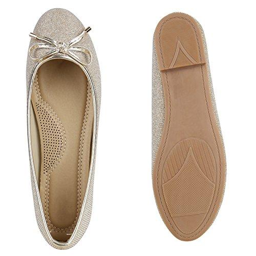 Moda Avion Confortáveis na Apartamentos Sapatos Senhoras Ouro Partido Do Chinelos Laço Cintilante wFYPqx