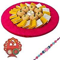 Bikanervala Exotic Kaju Sweets Rakhi Hamper with Designer Rakhi