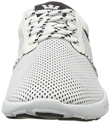 Supra Hammer Run, Sneaker Uomo Weiß (White-Black)