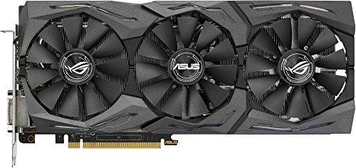 Asus-ROG-Strix-GTX1070-O8G-Gaming-Nvidia-Grafikkarte-8GB-GDDR5-Speicher-PCIe-30-HDMI-DVI-DisplayPort