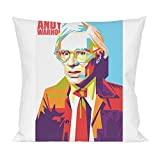 Andy Warhol Self Portrait Kissen