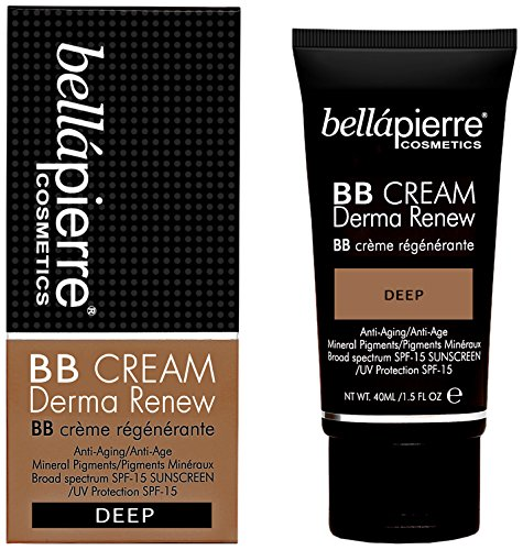 Bellapierre Cosmetics BB Cream Derma Renew deep, 1er Pack (1 x 40 ml)