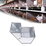 Dabixx Rabbit feeder potabile food Hutch ciotole per agricoltura agricoltura Equipment Tools
