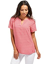 TOM TAILOR Damen Bluse Summerly Print Blouse Top