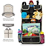 Premium Kids Car Back Seat Organiser | Simple Installation | Multiple Pockets | Detachable Compartment | Ideal Gift | 100% Infinity Guarantee |