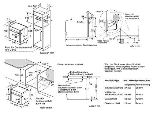 Neff VS 613 Set Einbau Backofen + Induktion Kochfeld Kochstelle Autark Herdset - 2