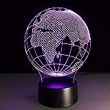 Best Smart Touch Music African Musics - Klsoo African Earth Acrylic 3D Night Light Gradient Review