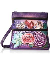 ANUSCHKA 447 LLC - Bolso cruzados para mujer multicolor Lush Lilac 9.5