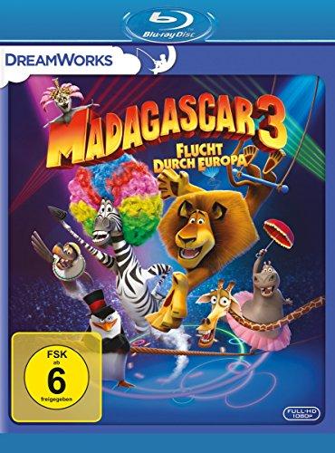 Madagascar 3 - Flucht durch Europa [Blu-ray] Preisvergleich