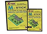 #9: Pragathi M-Stick India's No.1 Glue Board To Trap Rats With Peanut Butter Aroma Small/Big Pack Of 1+1