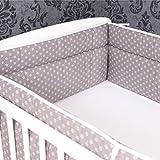 Bettumrandung Nestchen Kopfschutz 360x30 cm Bettnestchen Baby Design 25 NEU