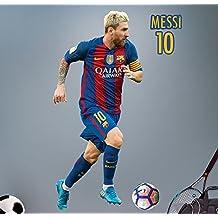 Messi - Vinilo oficial FC Barcelona 2016/2017 - 95 x 45 cm