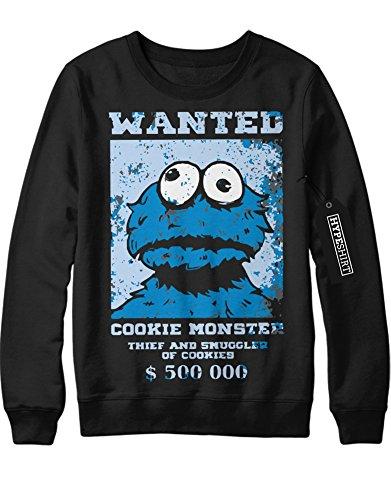 Kostüme Street Sesame Cookie Monster (Sweatshirt Sesame Street