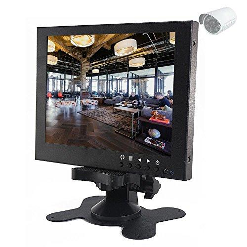 Sourcingbay 7 Inch Full Colour Tft Lcd Cctv Camera System Monitor with BNC/VGA/AV Input