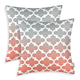 Best Pillowcase Modern Fantasy Sofas - Pack of 2 CaliTime Canvas Throw Pillow Covers Review