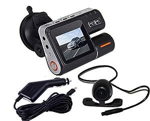 Mercurymall® 2 Inch HD TFT 1080P Car Dash 120° DVR Dual Camera Cam Recorder Night Vision G-sensor