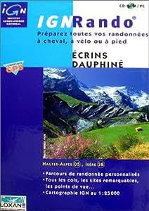IGN Rando : Ecrins - Dauphiné