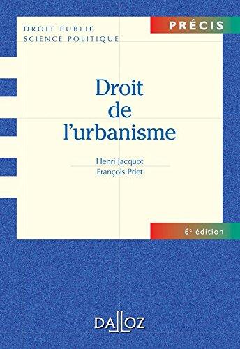 Droit de l'urbanisme par Henri Jacquot