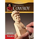 Learn to Carve a Cowboy (Booklet Only) (Woodcarving Illustrated Books) by Harold Enlow (2011-08-02)
