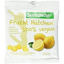 Seitenbacher 100 Prozent Vegan Frucht Hütchen Zitrone, 12er Pack (12 x 85 g)