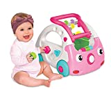 Infantino Sensory 3-in-1 Lauflernauto Rosa, rosa