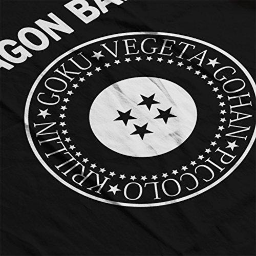 Cloud City 7 Dragon Ball Z Ramones Mix Womens Vest Black
