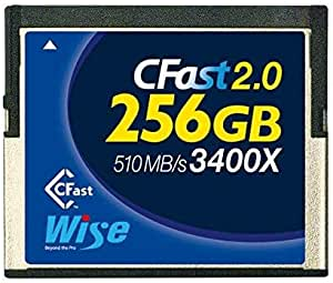 Cfast Wise 2 0 Memory Card 256gb 530 450mb Elektronik