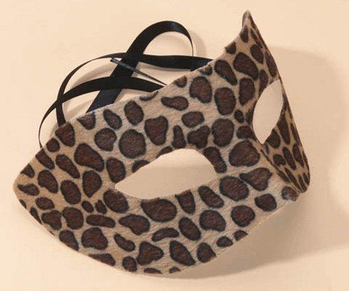 Maskerade Maske Leoparden Samt und ()