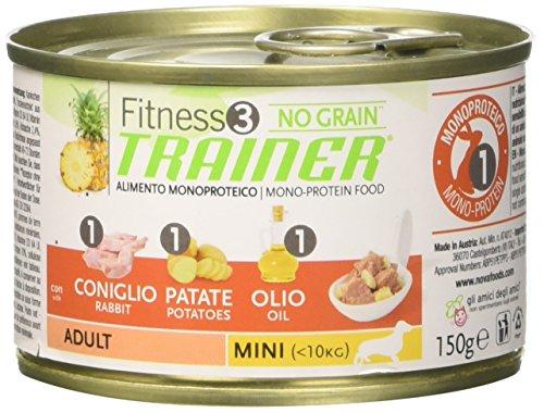 TR. Fit 3 Cane Adult Mini Coniglio No Grain Gr 150